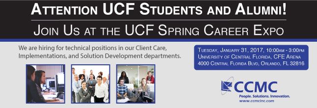 Join Us at the UCF Spring Career Expo